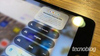 Como usar o modo Foco no iPhone ou iPad
