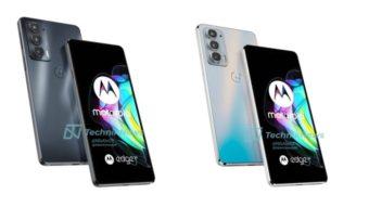 Motorola Edge 20, Pro e Lite aparecem em imagens vazadas