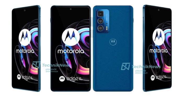 Motorola Edge 20 Pro pode ter edição com couro vegano (Imagem: Reprodução/TechnikNews)