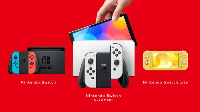 Os modelos de Switch (Imagem: Divulgação/Nintendo)