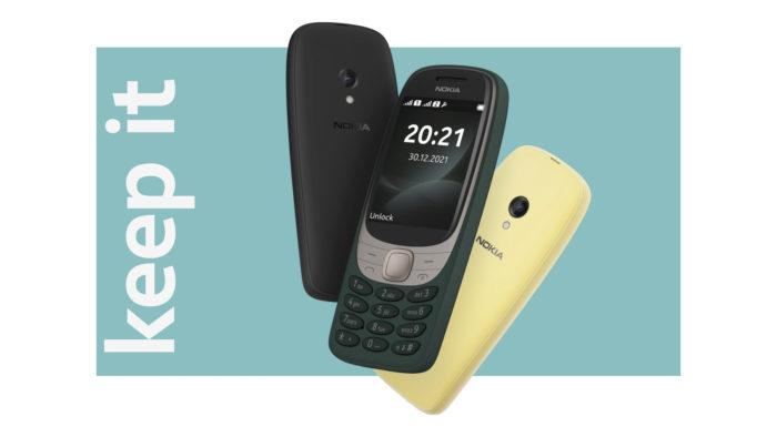 Nokia 6310 (Imagem: Divulgação/HMD Global)