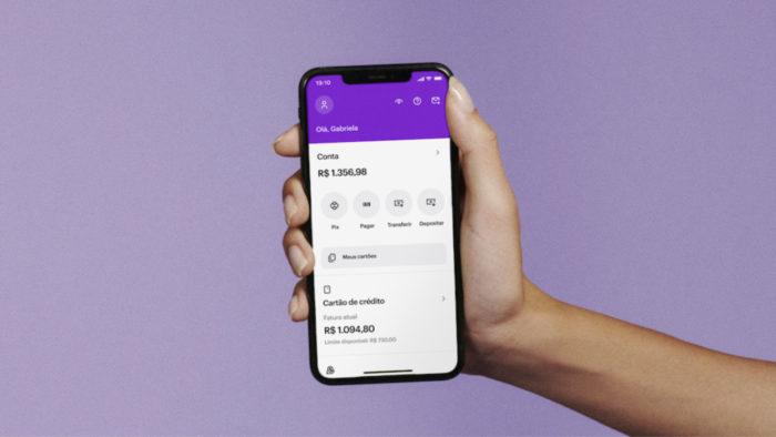App do Nubank recebe novo visual (Imagem: Divulgação/Nubank)