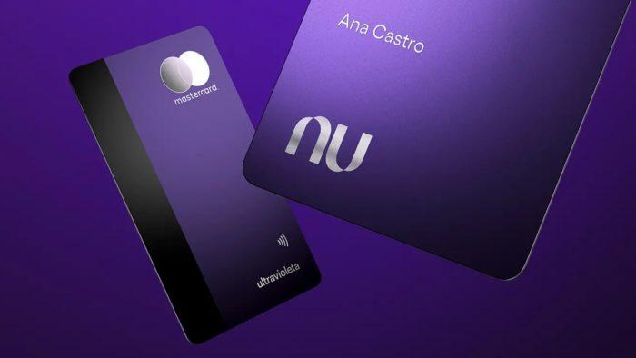 Cartão Nubank Ultravioleta (Imagem: Divulgação)