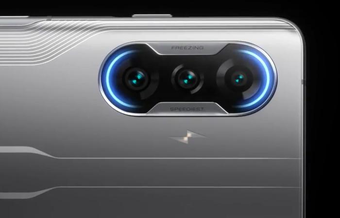 Câmeras do Poco F3 GT (Imagem: Divulgação/Xiaomi)