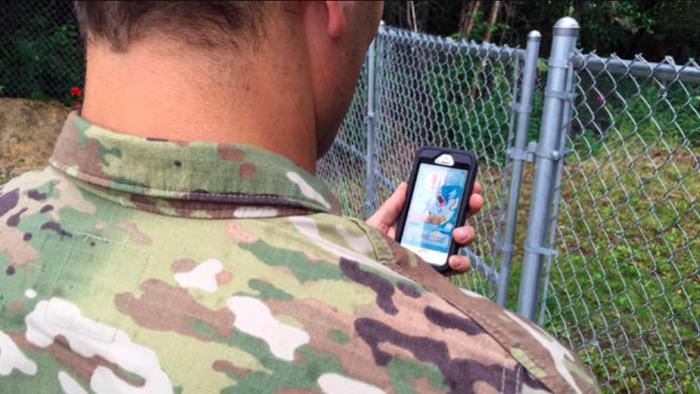 Pokémon Go também deixa história no conflito do Afeganistão (Imagem: Amy Bushatz/Military.com)