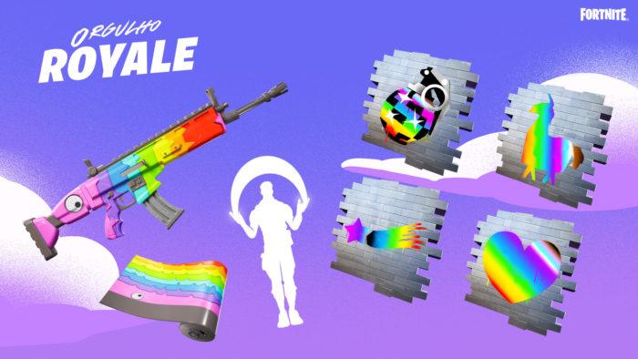 Itens da comunidade estão disponíveis (Imagem: Divulgação/Epic Games)
