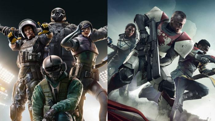 Grupo Ring-1 desenvolve hacks para Rainbow Six Siege e Destiny 2 (Imagem: Divulgação/Ubisoft e Bungie)