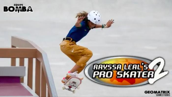 Rayssa Leal's Pro Skater 2 é criação do Bomba Patch (Imagem: Reprodução)