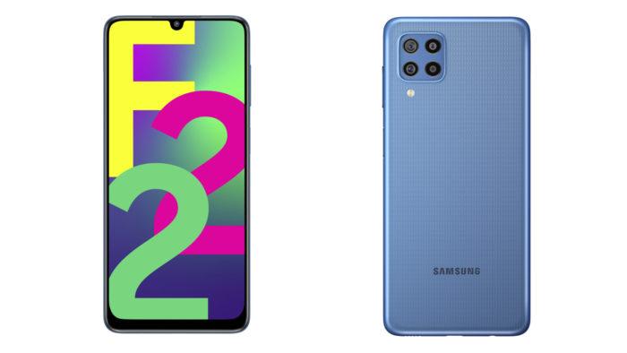 Samsung Galaxy F22 (Imagem: Divulgação/Samsung)