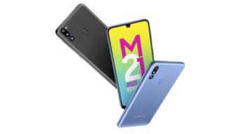 Galaxy M21 2021 Edition chega com bateria grande de 6.000 mAh e mais