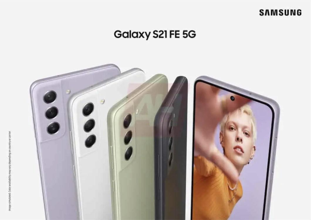 Possível Samsung Galaxy S21 FE (Imagem: Reprodução/Android Headlines)