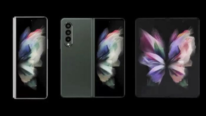 Suposto Galaxy Fold 3 (Imagem: Reprodução/Evan Blass/Twitter)
