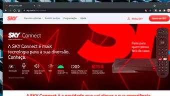 Sky lança seu primeiro decodificador de TV paga com Android TV