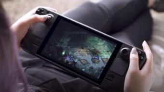 Steam Deck vai rodar mais jogos no lançamento graças à Epic Games