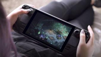 Steam Deck garante rodar jogos de última geração a pelo menos 30 fps