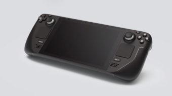 Steam Deck é um console portátil poderoso da Valve que roda jogos de PC