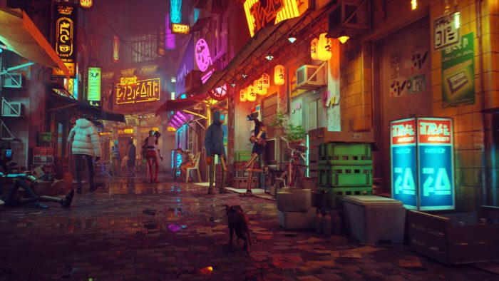 Stray puts the player in the shoes of a cyberpunk cat (Image: Press Release/Annapurna Interactive)