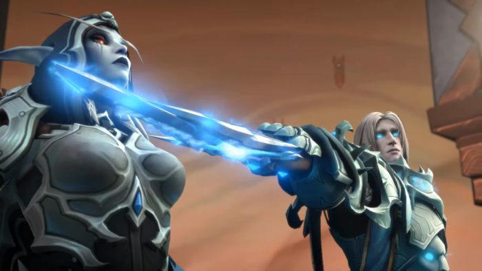 O enredo de Sylvanas em World of Warcraft foi criticado pela comunidade (Imagem: Reprodução/World of Warcraft)