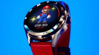 Relógio de Super Mario feito pela Tag Heuer traz Wear OS e preço salgado