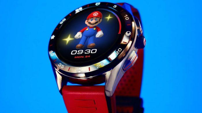 Smartwatch de Super Mario da linha Tag Heuer Connected (Imagem: Divulgação/Tag Heuer