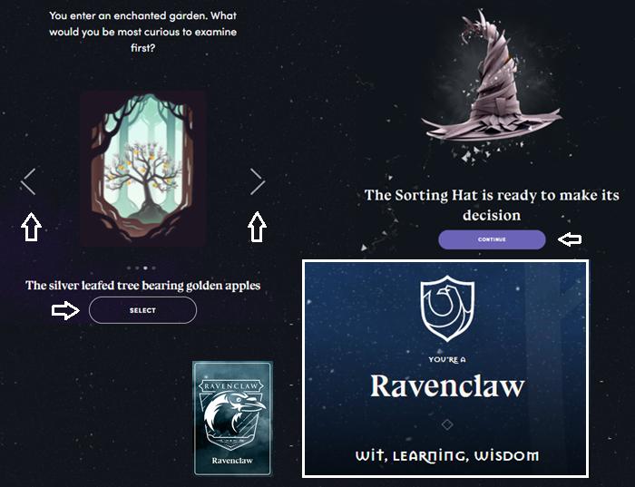Faça o teste: qual casa de Harry Potter é a sua? (Imagem: Reprodução/Wizarding World)