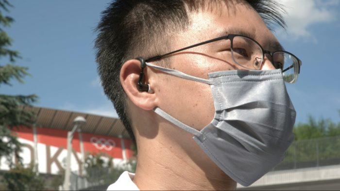Dispositivo auricular permite prever risco de insolação (Imagem: Divulgação)