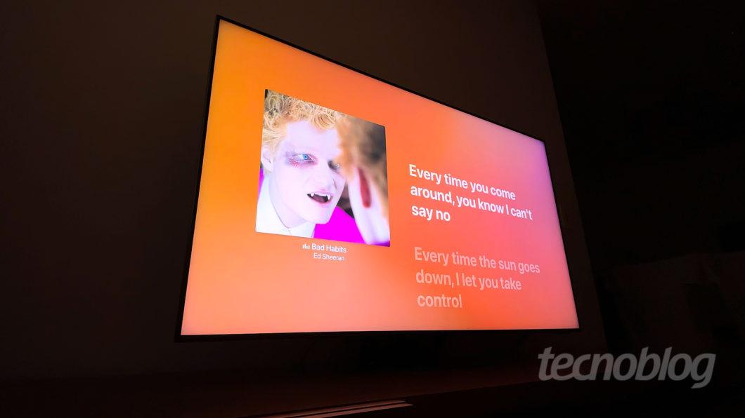 TV 4K Samsung Neo QLED QN90A (Imagem: Paulo Higa/Tecnoblog)
