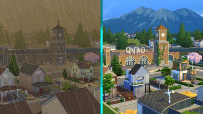 Vida Sustentável de The Sims 4