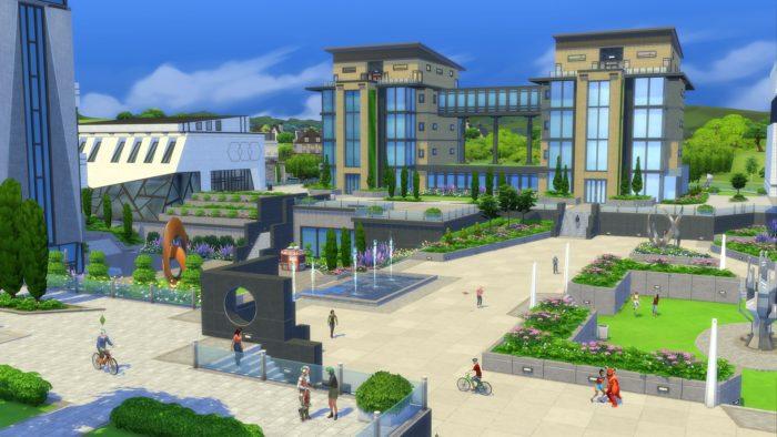 Vida Universitária de The Sims 4