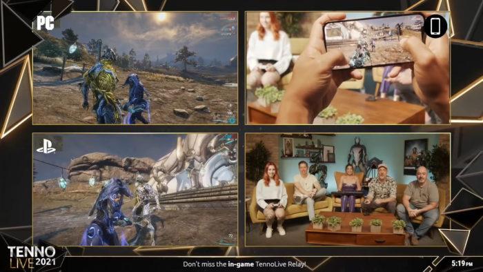Cross-play em Warframe (Imagem: Divulgação/Digital Extremes)