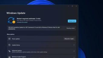Windows 11 dá estimativa de tempo necessário para instalar atualizações