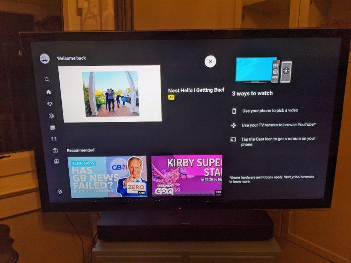 YouTube no Chromecast (Imagem: Reprodução/9to5Google)