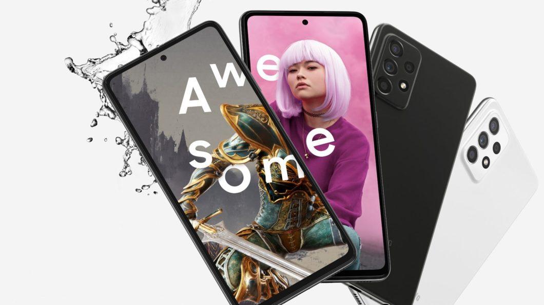 Samsung <a href='https://meuspy.com/tag/Espionar-Galaxy'>Galaxy</a> A52s 5G (Imagem: Divulgação/Samsung)
