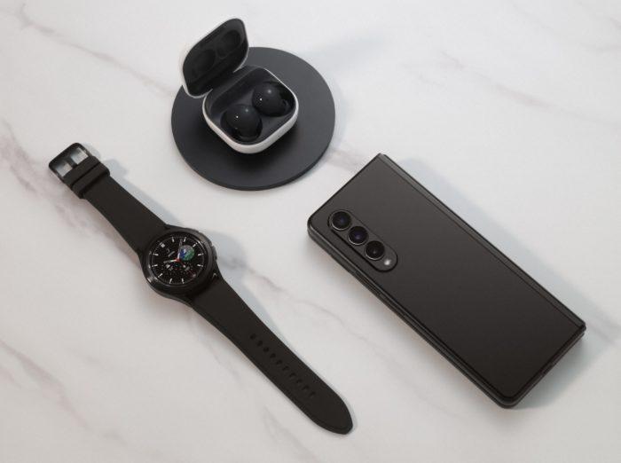 Galaxy Z Fold 3, Galaxy Watch 4 e Galaxy Buds 2