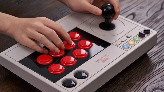 Arcade stick para jogos de luta