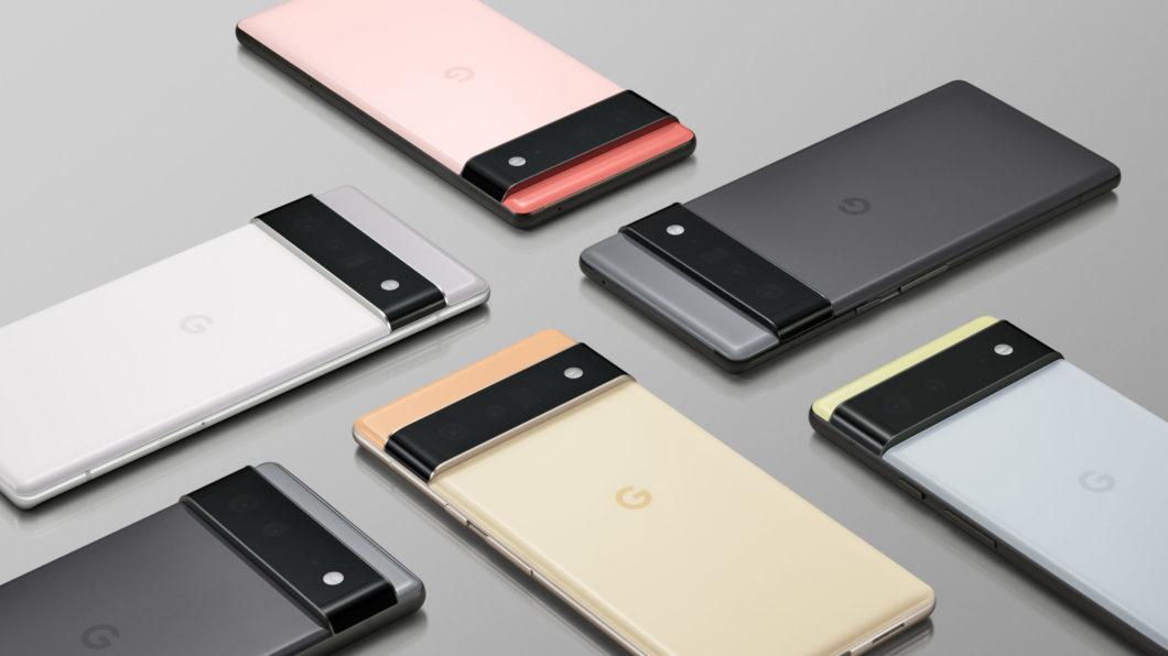 Google Pixel 6 e 6 Pro (Imagem: Divulgação/Google)