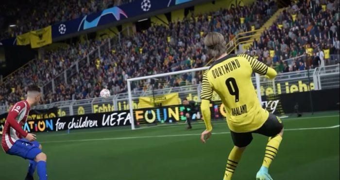 FIFA 22 (Imagem: Divulgação / EA Sports)