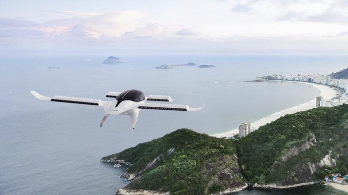Aeronave elétrica da Lilium no Rio de Janeiro