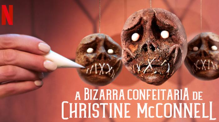 Christine cria sobremesas dignas do Halloween (Imagem: Reprodução/Netflix)