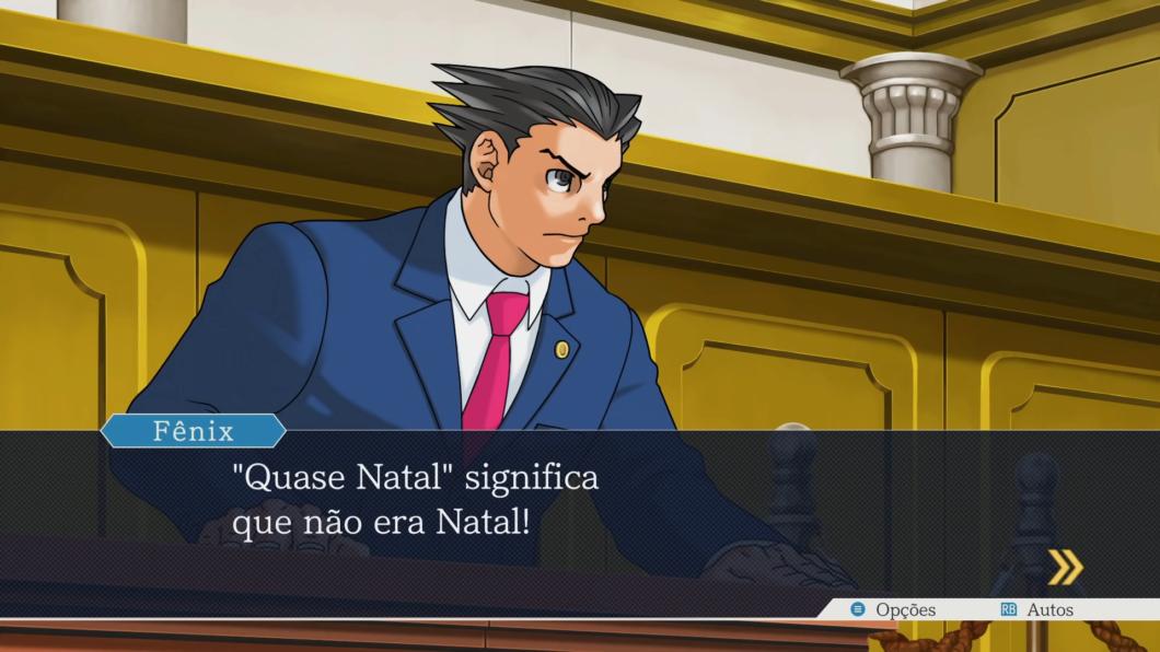 O clássico meme natalino da série também foi adaptado em Advogados de Primeira (Imagem: Murilo Tunholi/Tecnoblog)