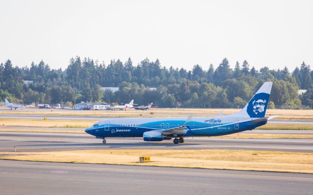 Avião da Alaska Airlines (Imagem: Divulgação/Alaska Airlines)