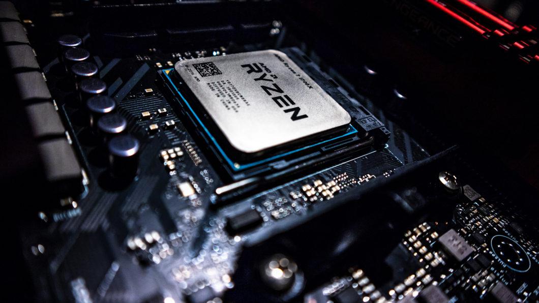 Chip APU da AMD (Imagem: Zii Miller/Unsplash)