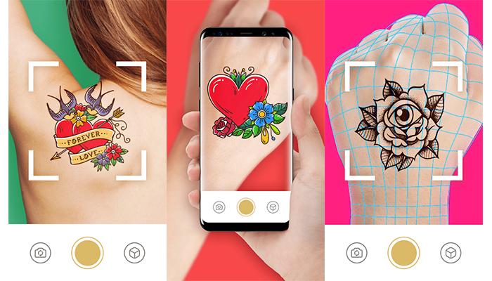 AR Tattoo usa realidade aumentada para entregar melhores resultados (Imagem: Reprodução/AR Tattoo)