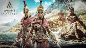 Assassin's Creed Odyssey é atualizado com 60 fps no PS5 e Xbox