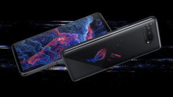 Asus ROG Phone 5S e 5S Pro com tela de 144 Hz são lançados no Brasil