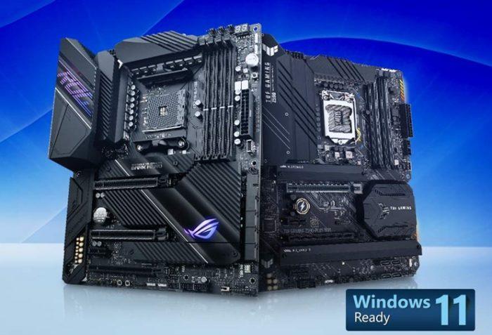 Asus atualiza BIOS de placas-mãe para suporte ao Windows 11 (imagem: reprodução/Asus)