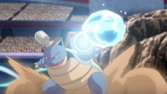 Blastoise vai chegar surfando a Pokémon Unite para defender o time