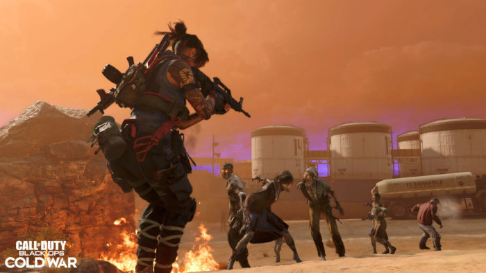 Zombie Campaign takes place in the Algerian Desert in Season 5 (Image: Press Release/Activision)