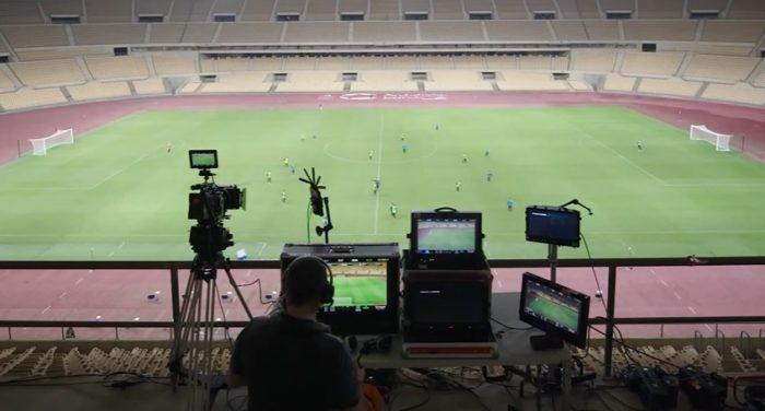 Com a tecnologia Hypermotion, a movimentação de 22 jogadores foi capturada em tempo real (Imagem: Divulgação / EA Sports)