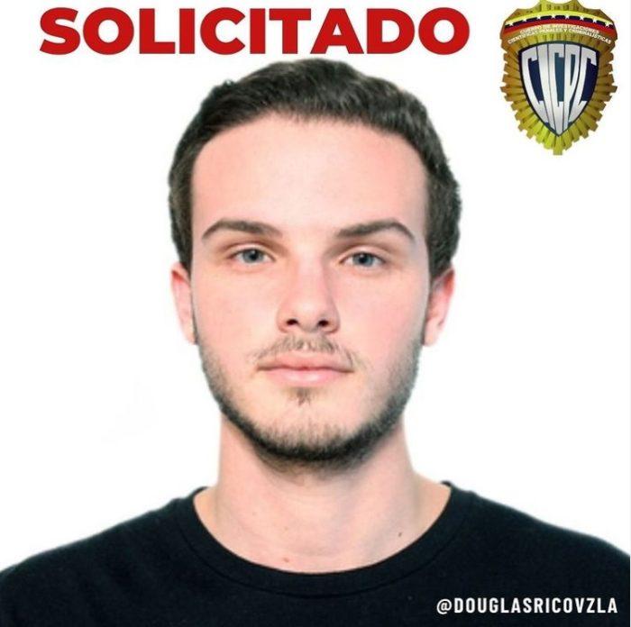 Cartaz de procurado de Andres Jesus Dos Santos Hernandez (Imagem: Instagram/ Douglas Rico)